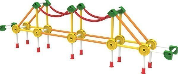 TINKERTOY 30 Model Super Building Set For Toddlers