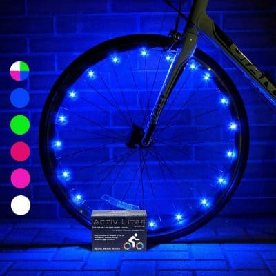 Activ Life LED Bike Wheel Lights with BATTERIES INCLUDED!