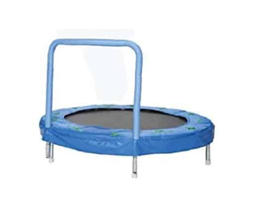 Bazoongi 48-Inch Bouncer Trampoline for 2-year-old-boy
