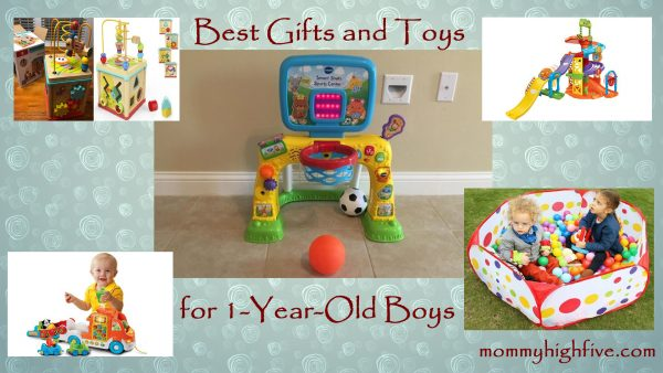 Best gifts and toys for 1-year-old boys