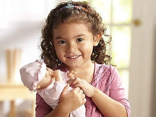 Melissa & Doug Mine to Love 12-Inch Baby Doll