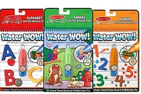 Melissa & Doug On the Go Water Wow! Reusable Activity Pads