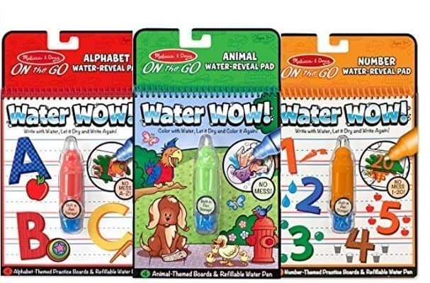 Melissa & Doug Water Reusable Activity Pads for 2-year-old boys