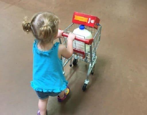 Melissa & Doug Toy Shopping Cart