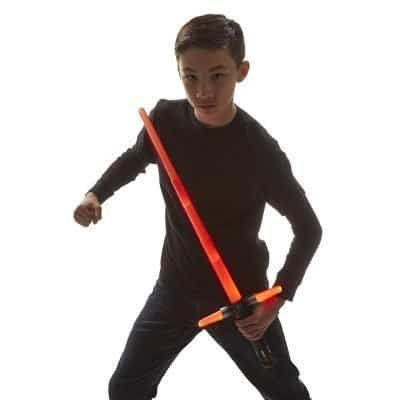 Star Wars The Force Awakens Kylo Ren Deluxe Electronic Lightsaber