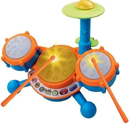 VTech KidiBeats Kids Drum Set for creatitve 2-year-old boys