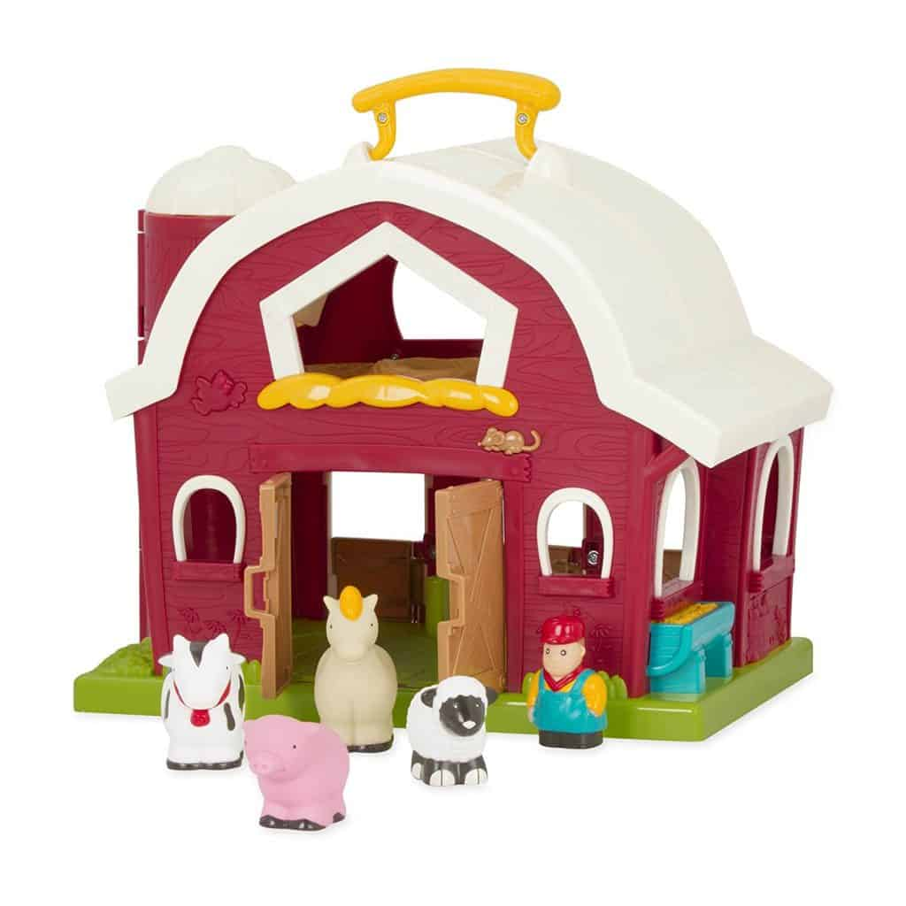 Battat Animal Farm Playset for Toddlers