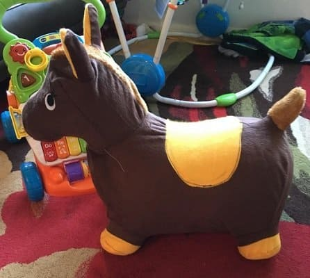 Bouncy Inflatable Hopping Horse