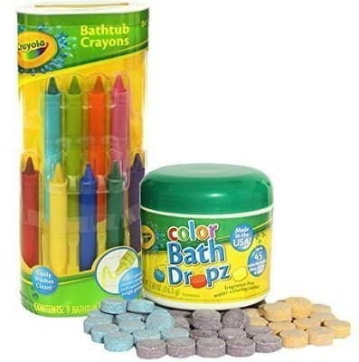 Crayola Bathtub Crayons with Crayola Color Bath Drops