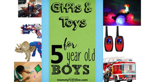 As a child grows from the preschool stage to kindergarten stage, he makes huge leap being labeled \u201cpreschooler\u201d or even \u201ctoddler\u201d just 25 Best Gift Ideas and Toys for 5-Year-Old Boys 2018 - Mommy High Five
