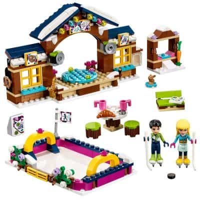 LEGO Friends Snow Resort Ice Rink 41322 Building Kit