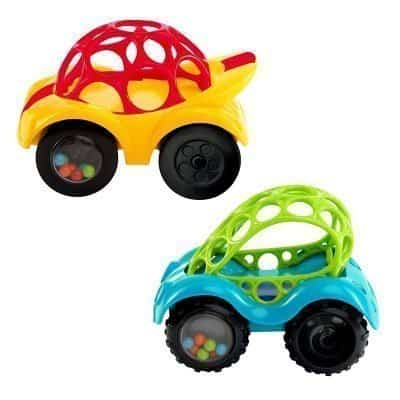 O Ball 1-Piece Rattle & Roll Car