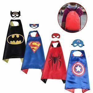 Spess Superhero Capes for Toddlers and Preschoolers