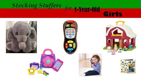 Stocking Stuffers and Small Christmas Gifts for 1-Year-Old Girls