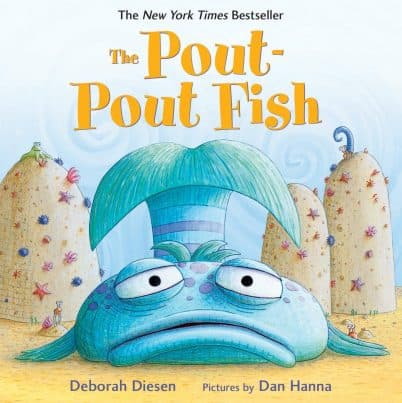 Book Gift for 1-Year-Old Girl The Pout-Pout Fish