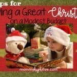 Tips for Having a Great Christmas on a Modest Budget