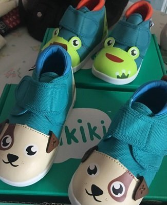 ikiki Squeaky Shoes for Toddlers w/Adjustable Squeaker