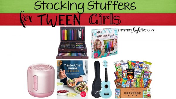 Stocking Stuffers and Small Gifts for Tween Girls