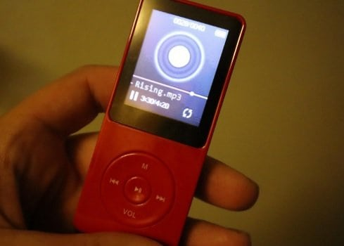 AGPTEK A02 8GB MP3 Player