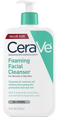 CeraVe Foaming Facial Cleanser for Normal to Oily Skin
