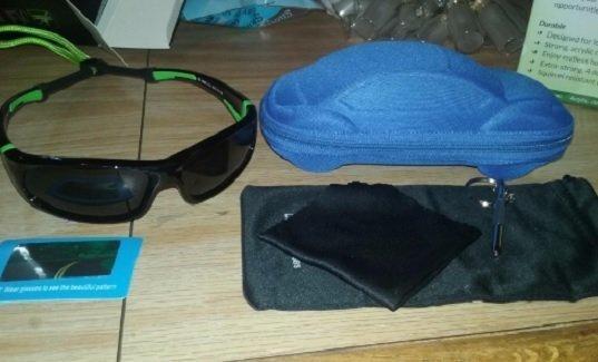 Duco Kids Sports Style Polarized Sunglasses Rubber Flexible Frame