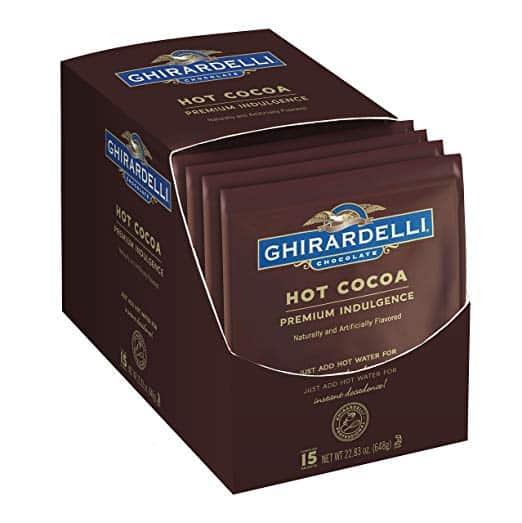Ghirardelli Hot Cocoa Envelopes