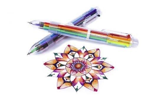 Multicolor Pens by Hieno