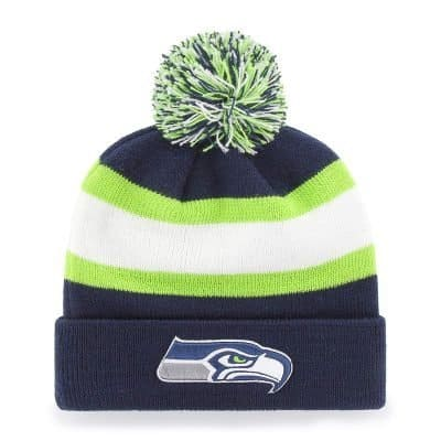 OTS NFL Knit Cap with Pom