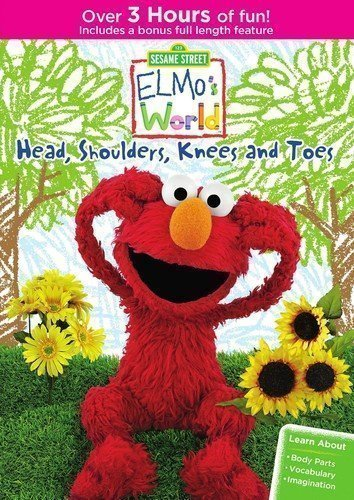Sesame Street: Elmo's World: Head, Shoulders, Knees And Toes DVD
