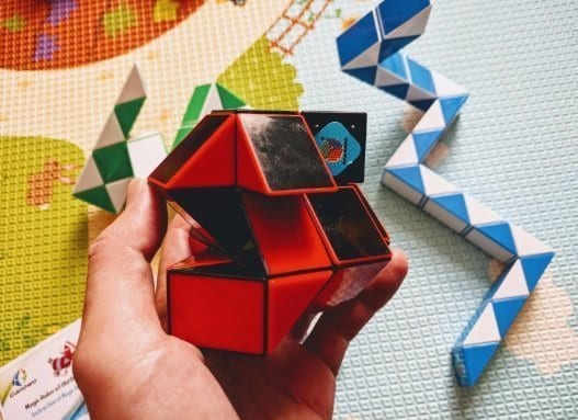 Snake Speed Cube Puzzle by Ganowo