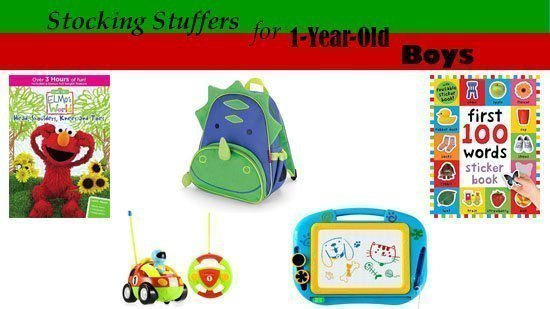 Stocking Stuffers and Small Christmas gifts for 1-Year-Old Boys