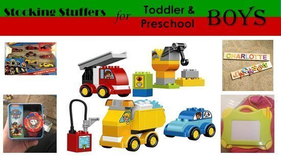 Budget Stocking Stuffers for Toddler and Preschool Boys