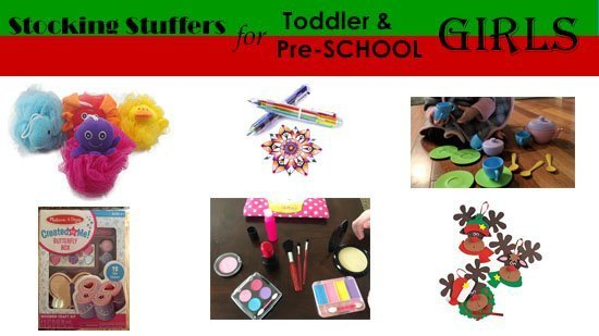 Stocking Stuffers for Toddler and Preschool Girls
