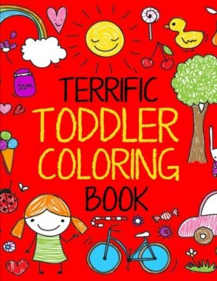 Terrific Toddler Coloring Book