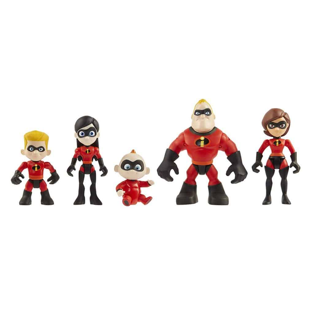 The Incredibles 2 Family 5-Pack Junior Supers Action Figures
