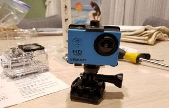 Vemont Action Camera 1080P 12MP