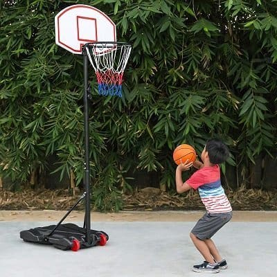 Best Choice Products Portable Basketball Hoop with Wheels