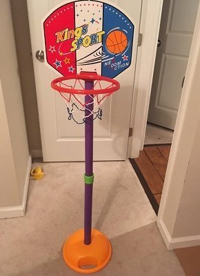 GoBroBrand Adjustable Basketball Hoop