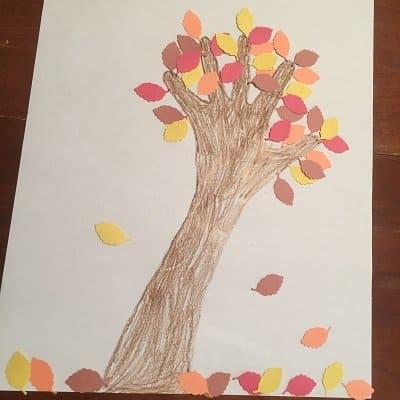 Autumn Tree Craft for Kids