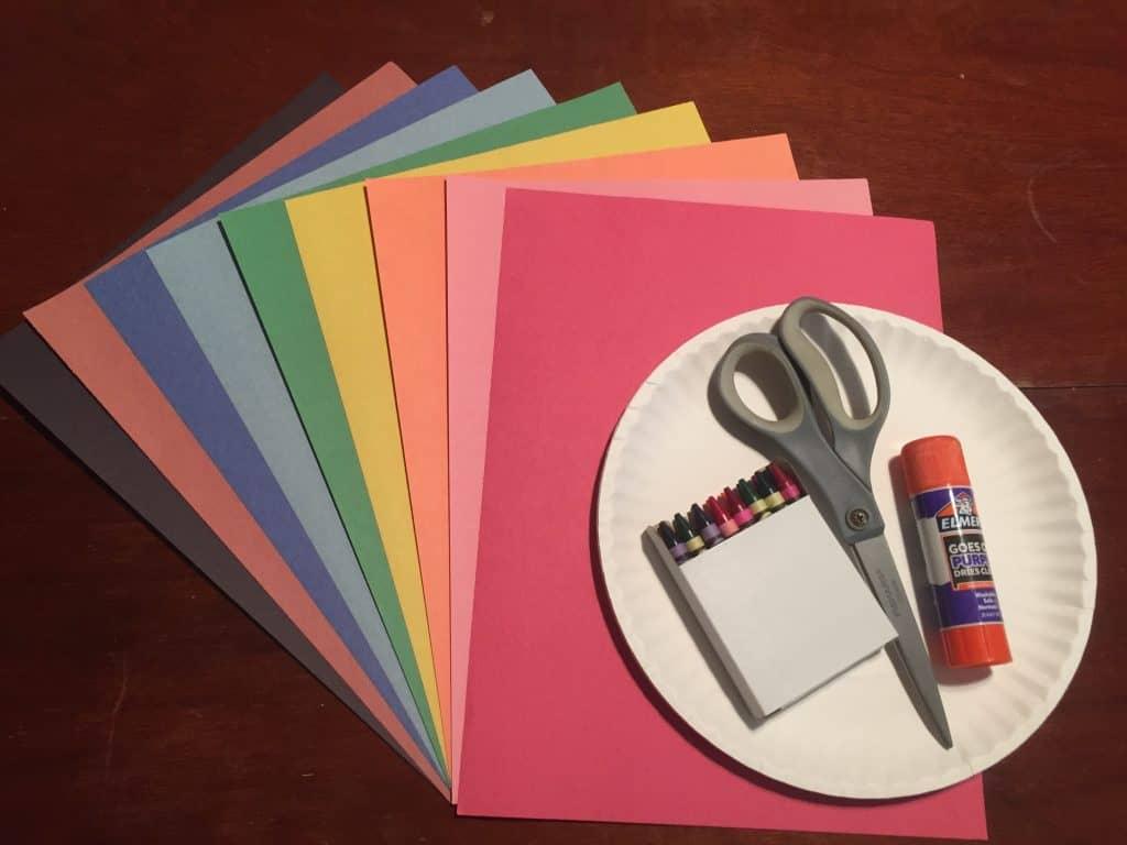 Thanksgiving Craft Supplies for Kids