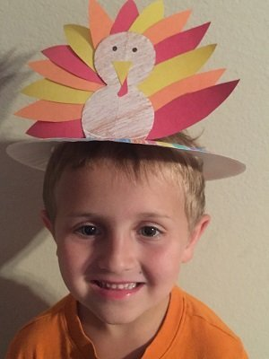 Turkey Hat for Kids