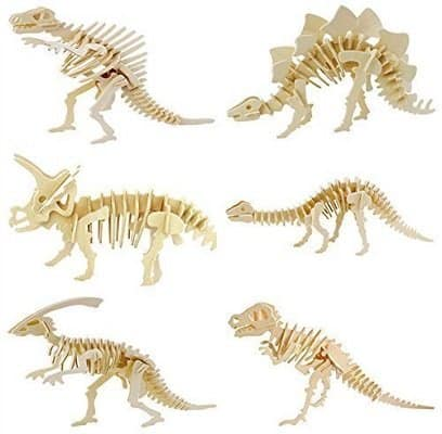Wooden Dinosaur Model for Children