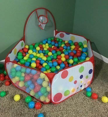 InnoFun Ball Pit with Basketball Hoop
