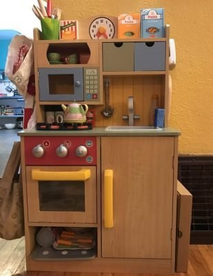 Teamson Kids - Little Chef Wooden Toy Play Kitchen