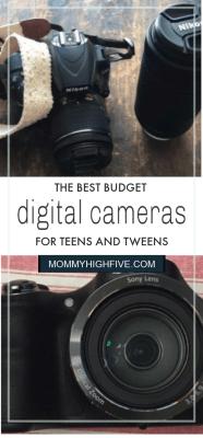 Best Digital Cameras Teens and Tweens