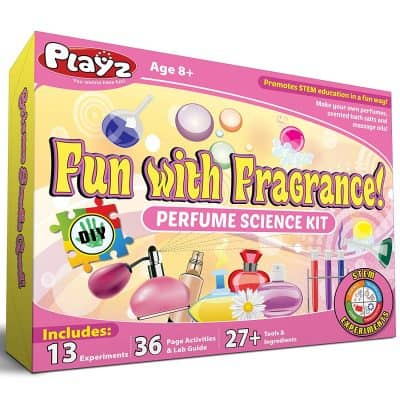 Playz Fun with Fragrance Perfume Making Science Kit for Kids
