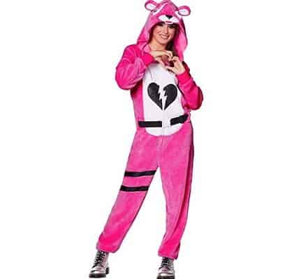 Spirit Halloween Adult Fortnite Plush Cuddle Team Leader Costume