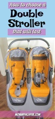 How to Choose a Double Stroller that will last