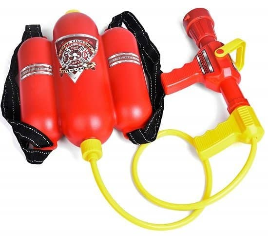 Fireman Toys Backpack Watergun Blaster