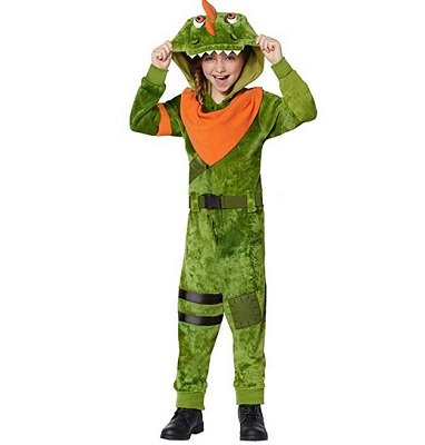 Kids Fortnite Plush Rex Costume